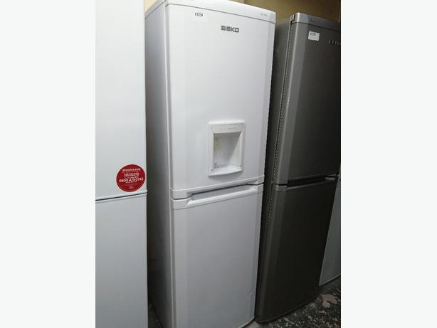 Beko Fridge freezer with water dispenser at Recyk Appliances