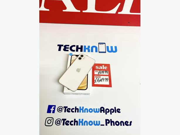 IPhone 12 64GB unlocked to all networks White Boxed £649.99