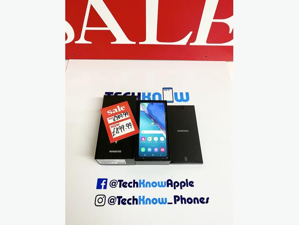 Samsung Note 20 256GB unlocked (Green) 5G Boxed - £499.99