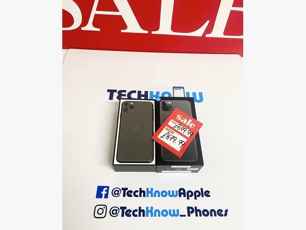 Apple IPhone 11 pro Max 64Gb unlocked Space Grey £679.99