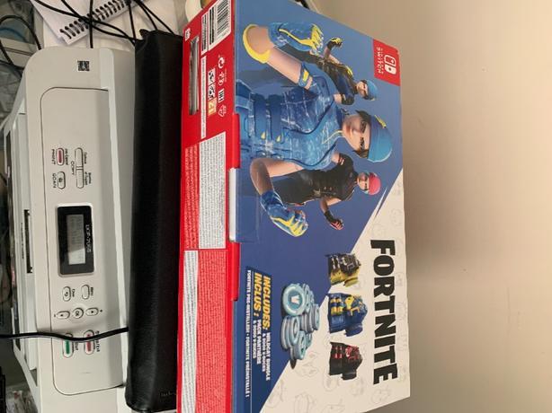 Nintendo Switch Fortnite Edition Brand New
