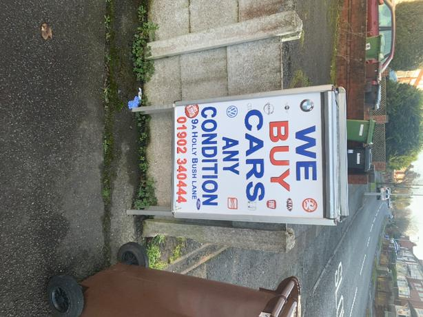 wanted vehicles any condition