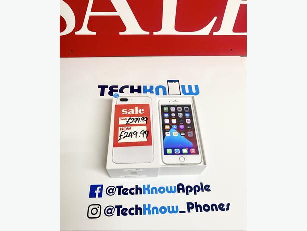 IPhone 8 Plus 64GB unlocked to all networks Silver £249.99