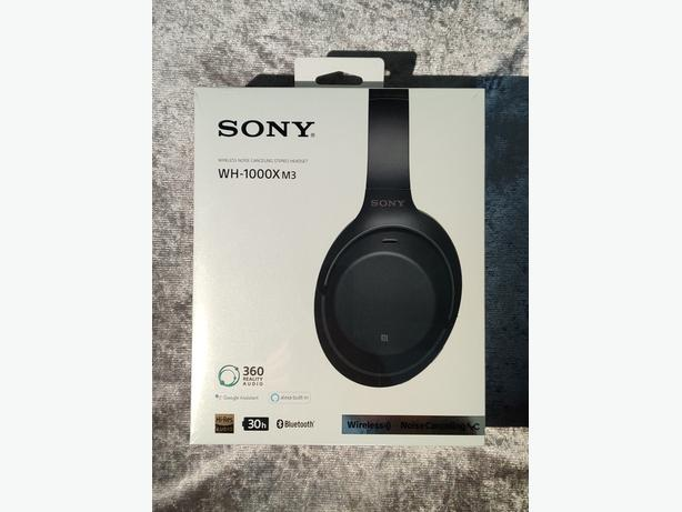 SONY WH-1000XM3 wireless Noise cancelling stereo headset