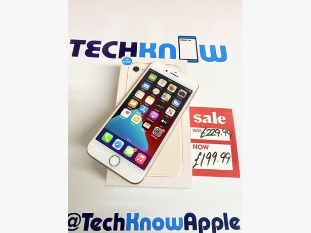 Apple iPhone 8 64GB unlocked (Gold) Boxed + Warranty - £199.99