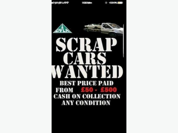 WANTED: cars vans we aim 2 pay more