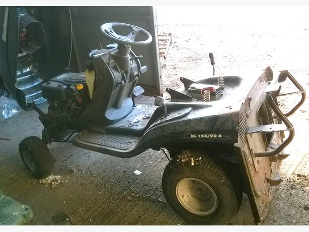 Bolens Ride On Lawn Mower 15,5 HP OHV BL155/92A - Spares & Repair