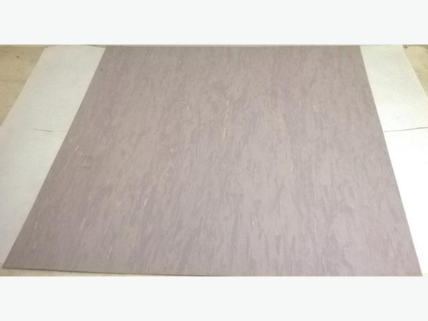 Joblot of 16 vinyl/Lino Floor Panels 61cm x 61cm