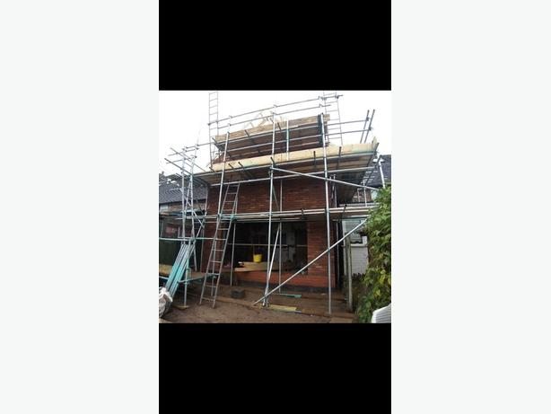scaffolding / construction / roofing