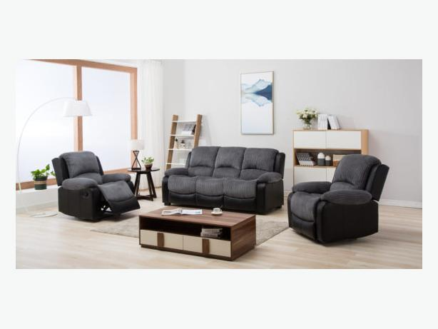 3str and 2str recliner or 3str and 2 recliner armchairs only £699.99