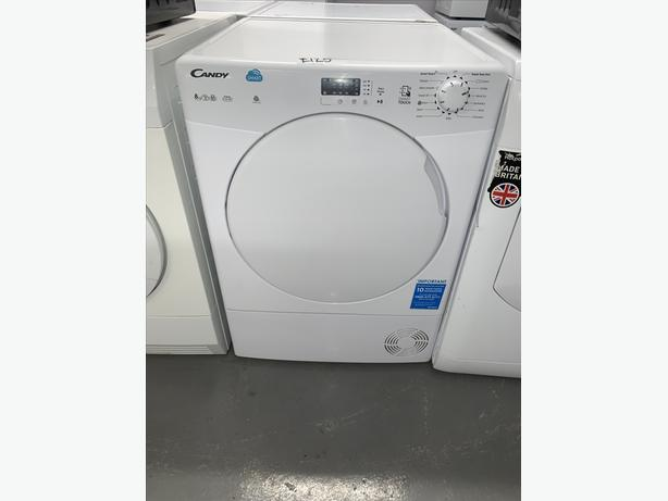 PLANET APPLIANCE - 8KG CANDY CONDENSER DRYER IN WHITE