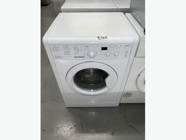 PLANET APPLIANCE - 7+5KG INDESIT WASHER WASHING MACHINE DRYER IN WHITE