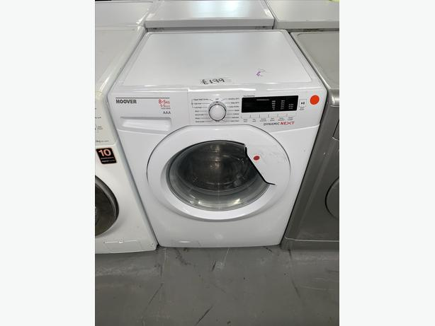 PLANET APPLIANCE - 8+5KG HOOVER WASHER WASHING MACHINE & DRYER IN WHITE