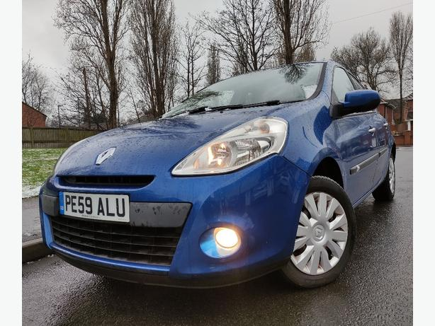 2009/59 RENAULT CLIO 1.5 DCI 5DR *1 OWNER LONG MOT IMMACULATE 30 POUND TAX