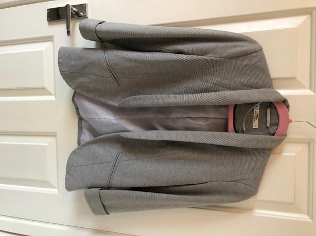 grey jacket size 8