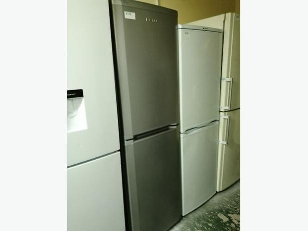 Beko Fridge freezer silver with warranty at Recyk Appliances