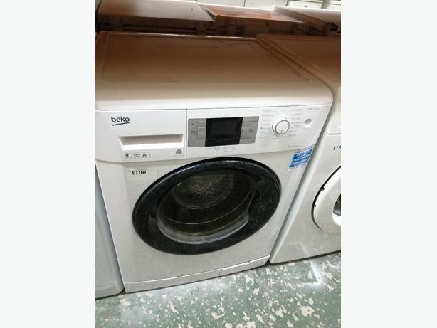 Beko 8kg washing machine A ++with warranty at Recyk Appliances