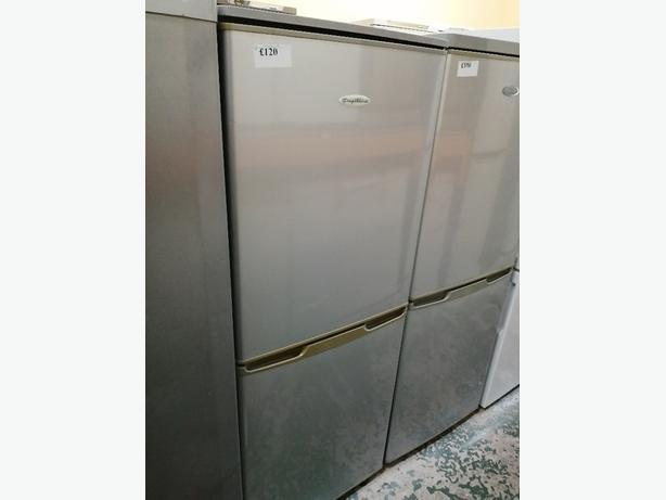 Frigidaire small fridge freezer with warranty at Recyk Appliances