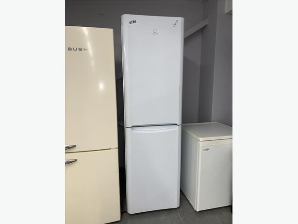 PLANET APPLIANCE - INDESIT FRIDGE FREEZER IN WHITE