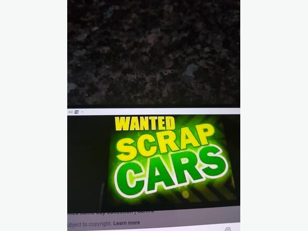 WANTED:  SCRAP CARS