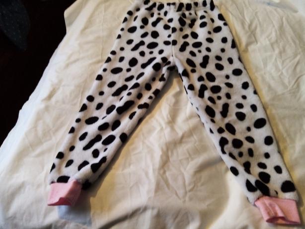 Two sets of girls warm pyjamas aged 4-5