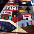 South American woolen wall hanging