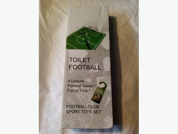 Toilet Football Novelty Game