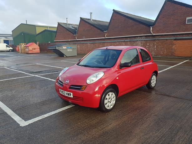 Automatic Micra 1,2 Low mileage, long mot, service history, drives great