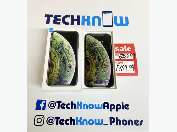 IPhone XS 512GB Unlocked to all networks Grey Boxed £399.99