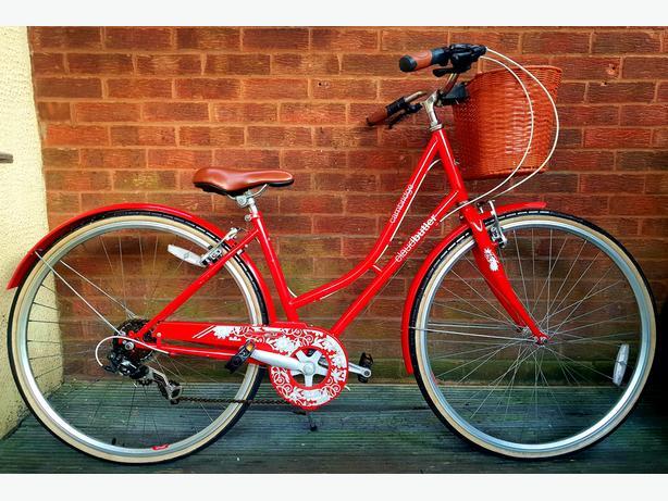 Claud Butler Cambridge  ladies bike,700c wheels, 6 speed