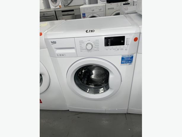 PLANET APPLIANCE - 7KG BEKO WASHER WASHING MACHINE IN WHITE
