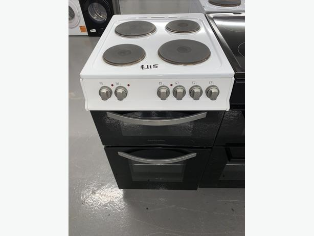 PLANET APPLIANCE - 50CM MONTPELLIER ELECTRIC COOKER - WHITE