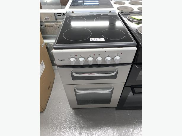 PLANET APPLIANCE - 50CM ROYALE ELECTRIC COOKER LIGHT GREY