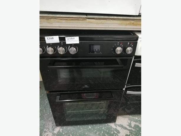 New World 60 cm electric cooker graded with warranty at Recyk Appliances