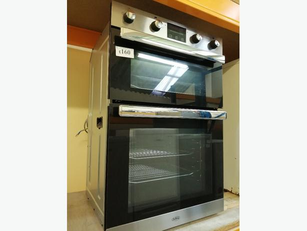 BELLING 60 CM DOUBLE ELECTRIC OVEN WITH WARRANTY AT RECYK