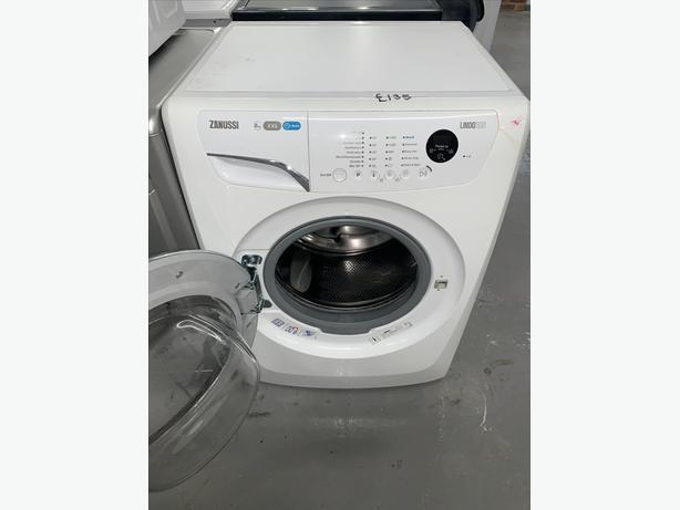 PLANET APPLIANCE - 8KG ZANUSSI WASHER WASHING MACHINE IN WHITE