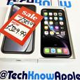 IPhone XR 64GB unlocked to all networks Black Boxed 329.99