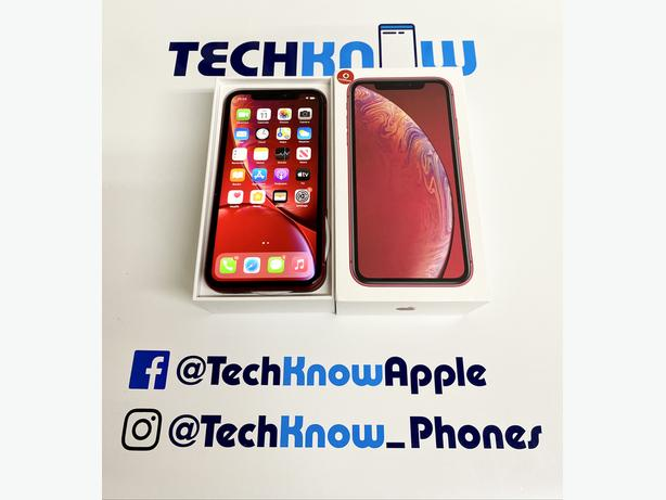 Apple IPhone XR 64GB locked to Vodafone Red Boxed 299.99