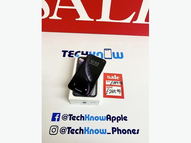 IPhone XR Grade C Black 64GB Unlocked Boxed - £269.99