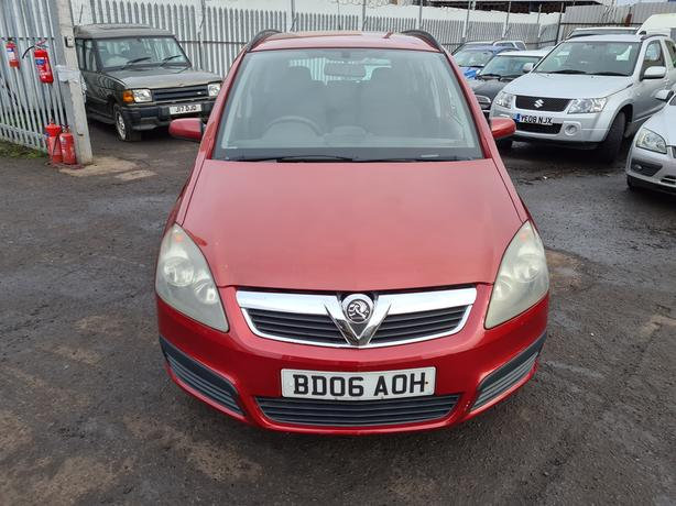 VAUXHALL ZAFIRA LIFE 16V 1.6 PETROL 5 SPEED MANUAL 2006 MOT'D