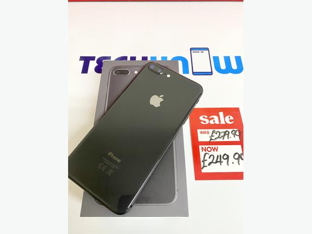 iPhone 8 Plus 64Gb unlocked to all networks Space Grey 249.99
