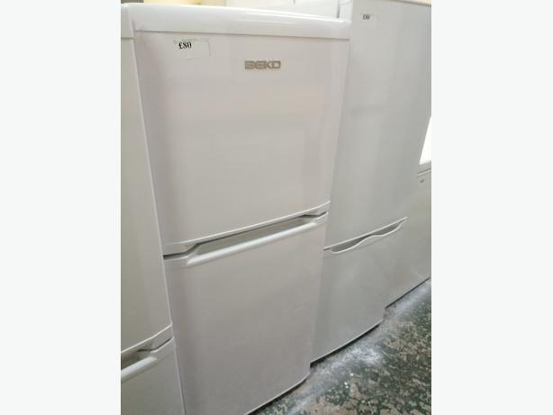 Beko small fridge freezer with warranty at Recyk Appliances