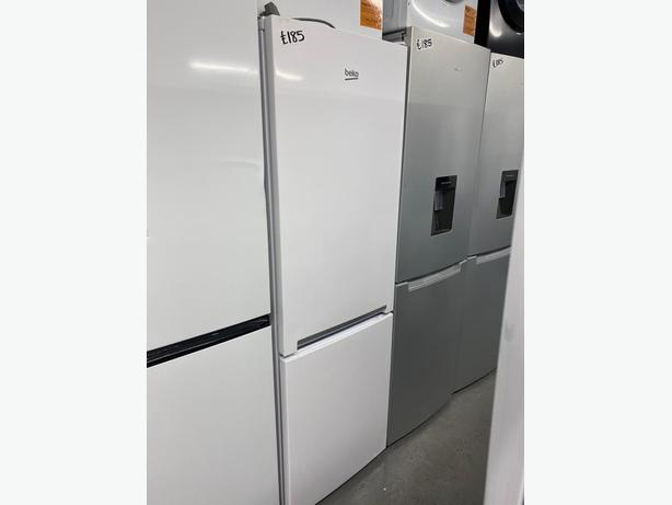 PLANET APPLIANCE -BEKO FRIDGE FREEZER IN WHITE