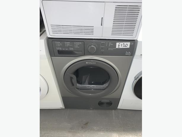 PLANET APPLIANCE - HOTPOINT 7KG CONDENSER DRYER - GRAPHITE