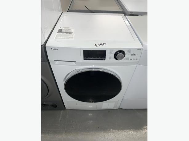 PLANET APPLIANCE - 8KG HAIER CONDENSER DRYER IN WHITE