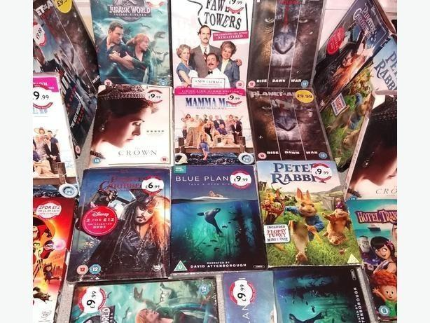Brand New sealed DVDS £2 each