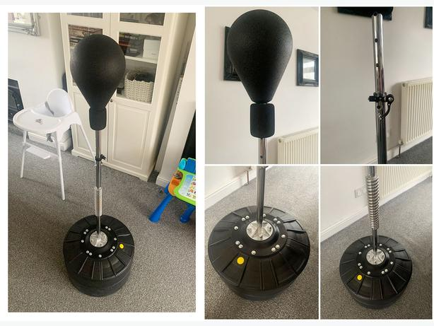 Punching/Kicking/Fitness Adult/Child Free Standing Speed Punch Ball - Only £55