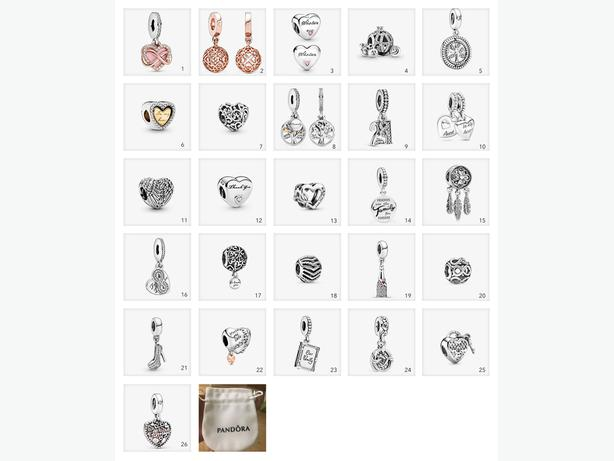 Pandora Like Charms - All Designs Only £10 each