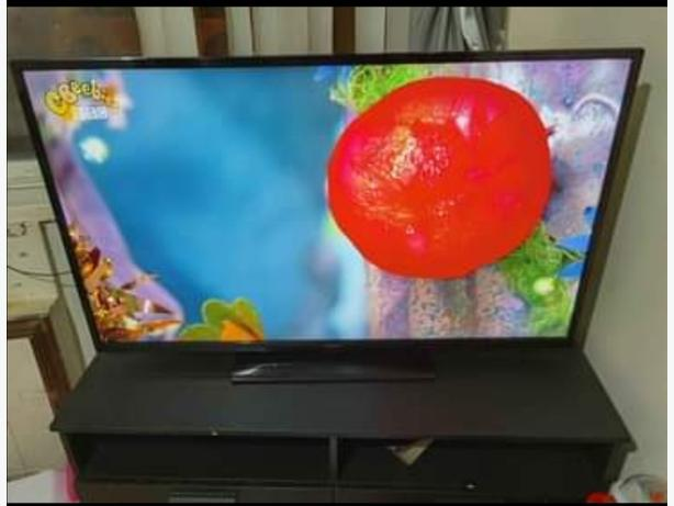 Hitachi 48inch led full HD smart TV