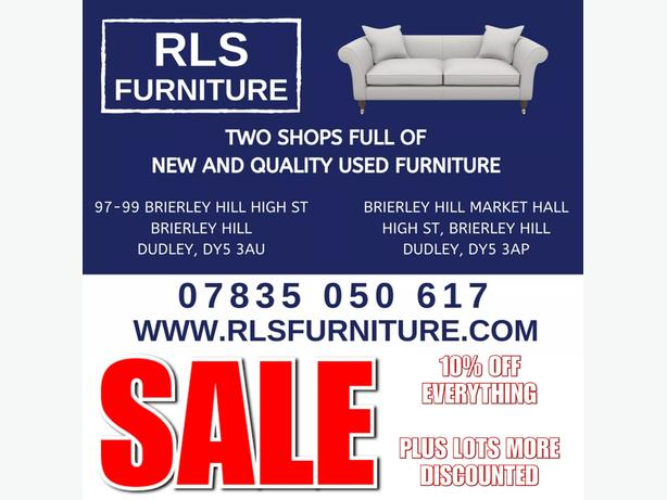 BRAND NEW & GOOD QUALITY SECOND HAND FURNITURE, SOFAS, BEDS, WARDROBES